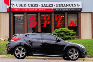 Used 2013 Hyundai Veloster Turbo | 6 Speed | Leather | Sunoof | Navi | Cam for sale in Oshawa, ON