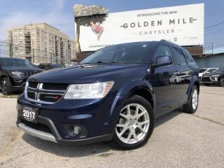 Used 2017 Dodge Journey GT No Accidents, Heated Leather Seats, Bluetooth for sale in North York, ON