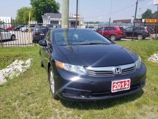Used 2012 Honda Civic EX for sale in Barrie, ON