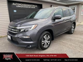 Used 2018 Honda Pilot EX Power Sunroof - Remote Start - Collision Avoidance for sale in Kingston, ON