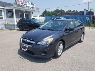 Used 2014 Subaru Impreza 2.0i w/Touring Pkg for sale in Barrie, ON