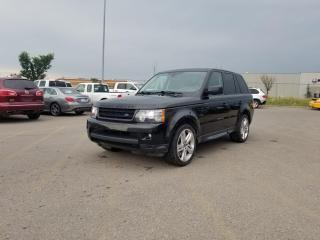 Used 2013 Land Rover Range Rover Sport SUPERCHARGER    $0 DOWN - EVERYONE APPROVED! for sale in Calgary, AB