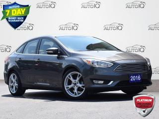 Used 2016 Ford Focus Titanium 2.0L | FWD | A/C | NAVIGATION for sale in Waterloo, ON