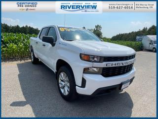 Used 2020 Chevrolet Silverado 1500 Silverado Custom Remote Keyless Entry | Sirius XM Radio | Rear Vision Camera | OnStar for sale in Wallaceburg, ON
