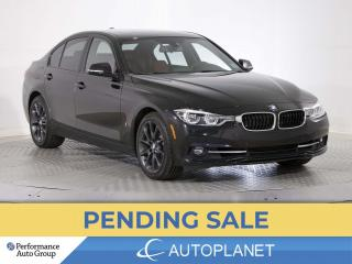Used 2017 BMW 3 Series 330e, Hybrid, Navi, Sunroof, Red Leather! for sale in Brampton, ON