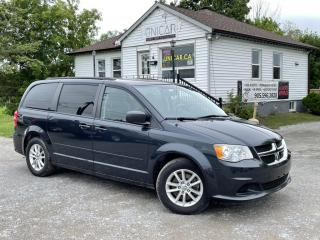 Used 2014 Dodge Grand Caravan No-Accidents SXT Plus StowNGo Navi Backup Cam DVD for sale in Sutton, ON