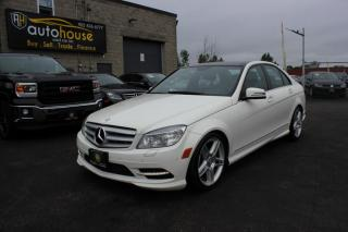 Used 2011 Mercedes-Benz C-Class 4MATIC/BACKUP CAMERA/NAV/MOONROOF/LEATHER INTERIOR for sale in Newmarket, ON