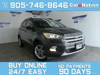 Used 2019 Ford Escape SEL | TOUCHSCREEN | LEATHER | 1 OWNER for sale in Brantford, ON