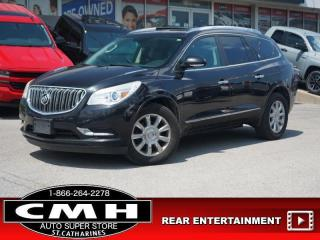 Used 2013 Buick Enclave Leather  NAV CAM DVD ROOF LEATH P/GATE 19-AL for sale in St. Catharines, ON