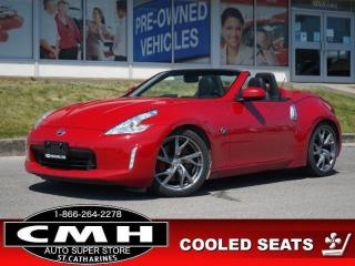 Used 2013 Nissan 370Z Touring  CONVERTIBLE P/SEATS HTD-SEATS 19-AL for sale in St. Catharines, ON