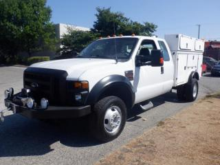 Used 2009 Ford F-350 SD Service Truck SuperCab Dually  4WD Diesel for sale in Burnaby, BC