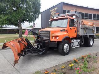 Used 2006 Freightliner M2106 Plow Dump Truck with Plow and Air Brakes for sale in Burnaby, BC