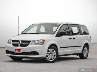 Used 2016 Dodge Grand Caravan CANADA VALUE PACKAGE for sale in Carp, ON