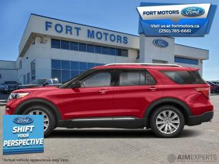 New 2021 Ford Explorer XLT High Package  - Activex Seats - $381 B/W for sale in Fort St John, BC