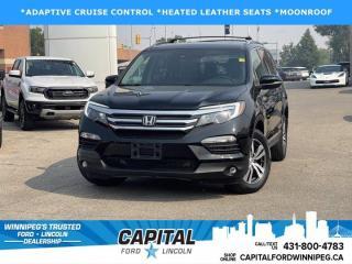 Used 2017 Honda Pilot EX-L for sale in Winnipeg, MB