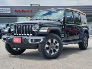 Used 2020 Jeep Wrangler Unlimited for sale in Listowel, ON