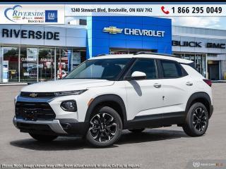 New 2021 Chevrolet TrailBlazer LT for sale in Brockville, ON