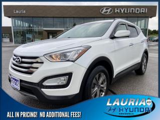 Used 2016 Hyundai Santa Fe Sport 2.4L FWD  - Bluetooth / Heated seats for sale in Port Hope, ON