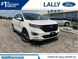 Used 2018 Ford Edge Sport, One Owner, AWD, Loaded!! for sale in Tilbury, ON