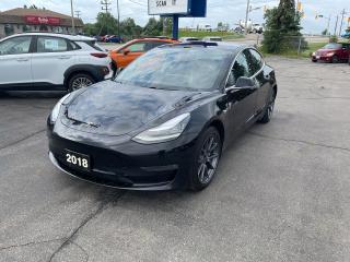 Used 2018 Tesla Model 3 LONG RANGE for sale in Brantford, ON