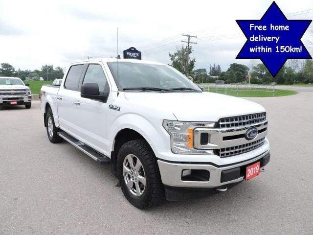 2019 Ford F-150 XLT/XTR Crew 4X4 1 owner Like new tires 93000 km
