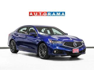 Used 2018 Acura TLX AWD Elite A-Spec Nav Leather Sroof Backup Cam for sale in Toronto, ON