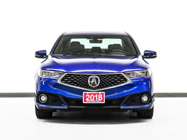 2018 Acura TLX AWD Elite A-Spec Nav Leather Sroof Backup Cam