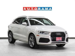 Used 2018 Audi Q3 Progressiv Navigation Leather PanoRoof Backup Cam for sale in Toronto, ON