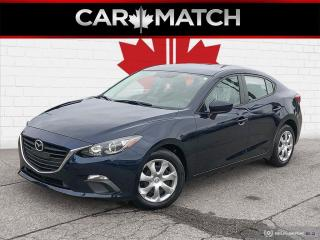 Used 2016 Mazda MAZDA3 GX / AUTO / AC / POWER GROUP for sale in Cambridge, ON