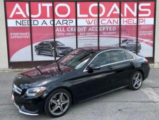 Used 2016 Mercedes-Benz C-Class C 300-ALL CREDIT ACCCEPTED for sale in Toronto, ON