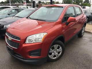 Used 2014 Chevrolet Trax LS for sale in Mississauga, ON