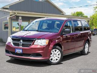 Used 2018 Dodge Grand Caravan SXT,ECON,STOW-N-GO,BLUETOOTH,DUAL CLIMATE,USB for sale in Orillia, ON