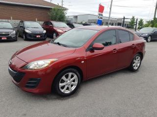 Used 2010 Mazda MAZDA3 GS, MANUAL, A/C, BLUETOOTH, ACCIDENT FREE for sale in Ottawa, ON