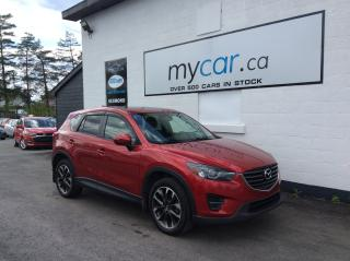 Used 2016 Mazda CX-5 GT LEATHER, SUNROOF, NAV, HEATED SEATS, LOW MILEAGE!! for sale in North Bay, ON