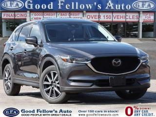 Used 2018 Mazda CX-5 GT SKYACTIV, AWD, LEATHER SEATS, SUNROOF, LDW for sale in Toronto, ON