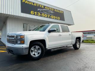 Used 2015 Chevrolet Silverado 1500 1LT Great Deal for a Great Truck! 5.3L V8! Heated Seats! 4X4! for sale in Kingston, ON