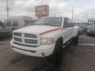 Used 2005 Dodge Ram 3500 LEATHER*DUALLY*CUMMINS DIESEL*4X4**CREW CAB for sale in London, ON