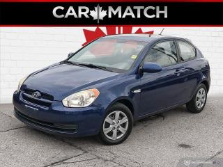 Used 2009 Hyundai Accent GL / AUTO / AC / NO ACCIDENTS for sale in Cambridge, ON