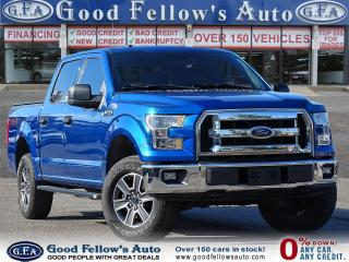 Used 2017 Ford F-150 XLT SUPERCREW, 4WD, REARVIEW CAMERA, BLUETOOTH for sale in Toronto, ON