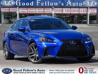 Used 2017 Lexus IS 300 FSPORT 2, AWD, LEATHER SEATS, SUNROOF, NAVI, LDW for sale in Toronto, ON