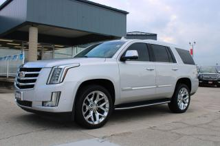Used 2018 Cadillac Escalade LUXURY for sale in Tilbury, ON