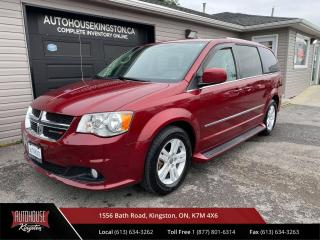 Used 2014 Dodge Grand Caravan Crew Snow Tires Included! for sale in Kingston, ON