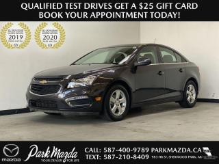 Used 2016 Chevrolet Cruze Limited LT for sale in Sherwood Park, AB