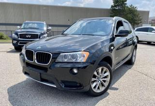 Used 2013 BMW X3 28i Panoramic Sunroof /Leather /Camera for sale in North York, ON