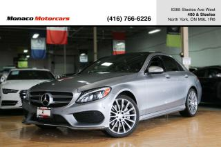 Used 2015 Mercedes-Benz C-Class C400 4MATIC - AMG|PANO|NAVI|BACKUP|BLINDSPOT for sale in North York, ON