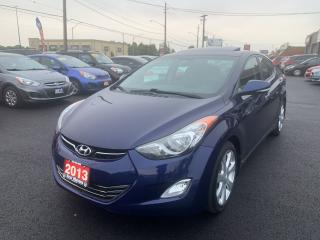 Used 2013 Hyundai Elantra Limited for sale in Hamilton, ON