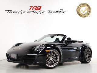 Used 2017 Porsche 911 CARREA 4 I PREMIUM PKG I PDK I CONVERTIBLE I BOSE for sale in Vaughan, ON