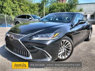 Used 2019 Lexus ES 350 Premium ULTRA LUXURY  MARK LEVINSON SOUND  HEATED for sale in Ottawa, ON