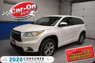 Used 2015 Toyota Highlander LE   AWD   8 PASSENGER   CONVENIENCE PKG   for sale in Ottawa, ON