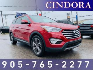 Used 2013 Hyundai Santa Fe Limited AWD, Leather, NAV, Pano Roof for sale in Caledonia, ON